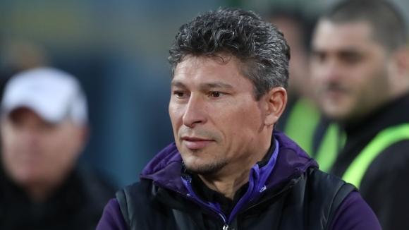 Балъков: През първото полувреме имаше само един отбор на терена