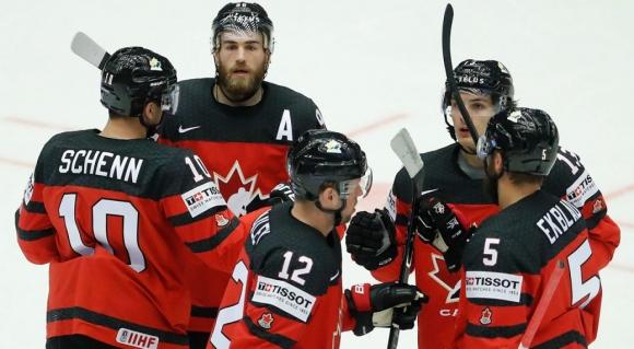 Канада разгроми Дания на световните финали по хокей на лед