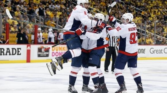 """НХЛ ще има нов носител на Купа """"Стенли""""! Вашингтон изхвърли Питсбърг"""