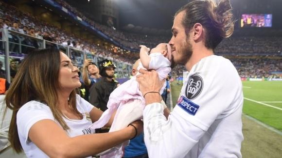 Гарет Бейл стана горд татко на момченце