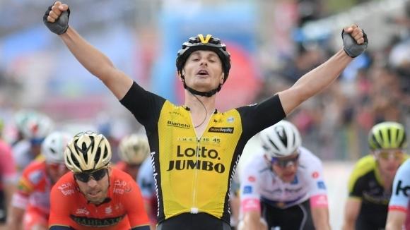 Италианец спечели петия етап на Джирото