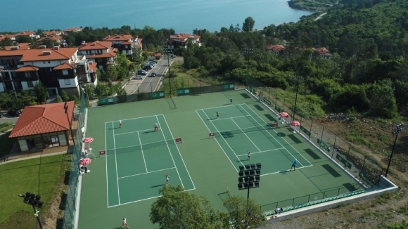 """""""Санта Марина"""" е домакин на единствения международен тенис турнир у нас"""