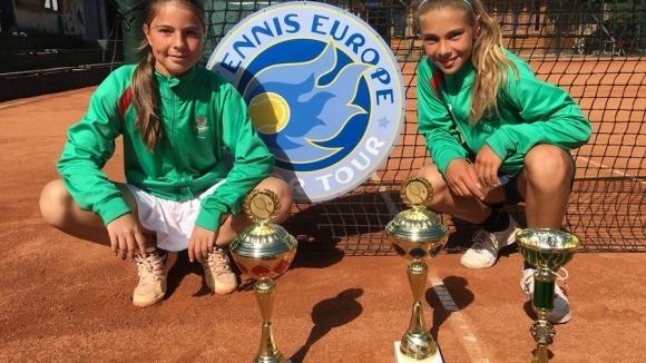 Константинова и Николова спечелиха титлата на двойки в Сърбия