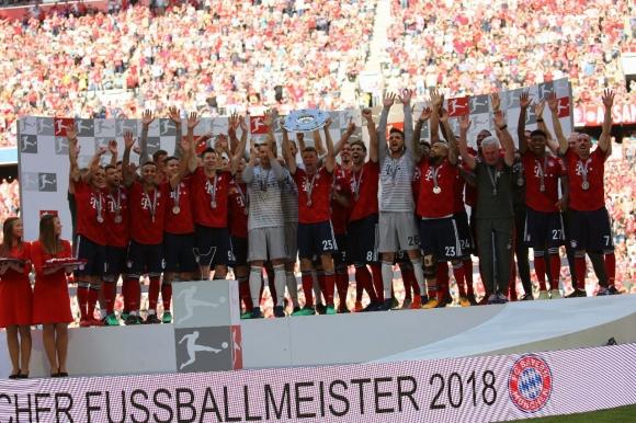 Баварците получиха титлата си