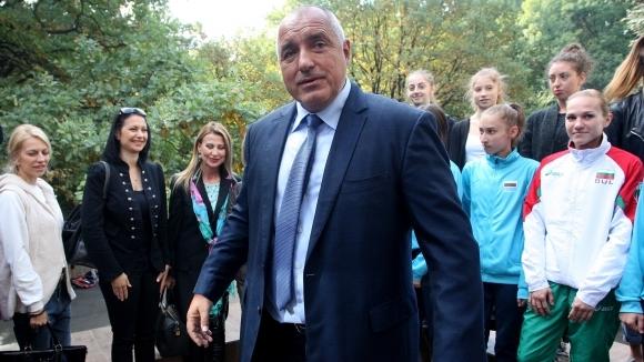 Бойко Борисов честити купата на Славия