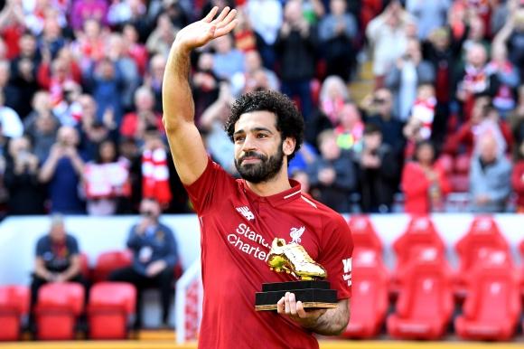"""Ливърпул приключи ударно сезона в Премиър лийг, Салах с рекорд и """"Златната обувка"""" (видео)"""
