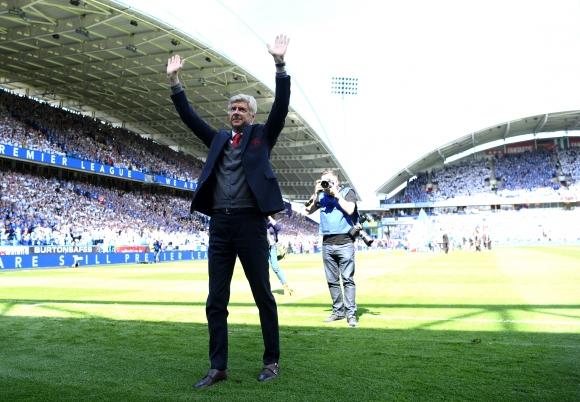 Славният престой на Венгер в Арсенал приключи с успех (видео)