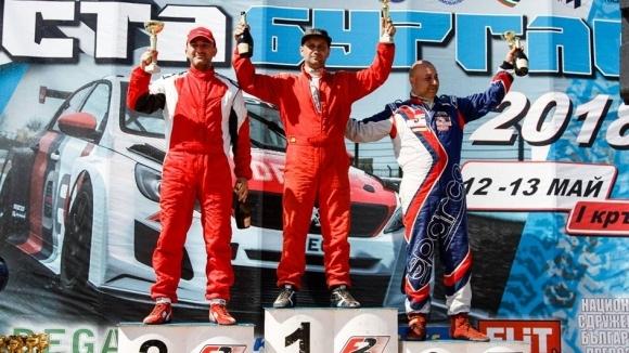 Камен Василев с първо състезание в пистовия шампионат