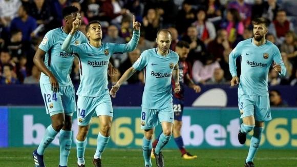 Коутиньо: Исках да вкарам първия си хеттрик при победа на Барселона