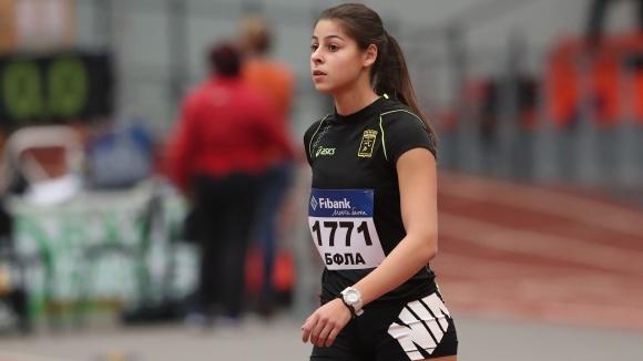 Александра Начева си осигури участие на СП до 20 години с рекорд в скока на дължина