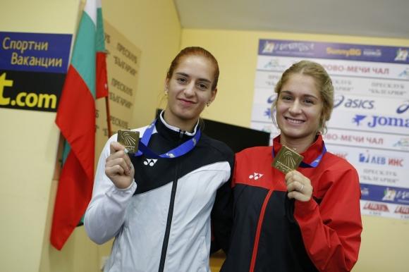 Стефани Стоева и Габриела Стоева се целят в медал от световното