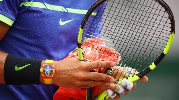Разликите в сплитането на ракетите между Надал и Федерер