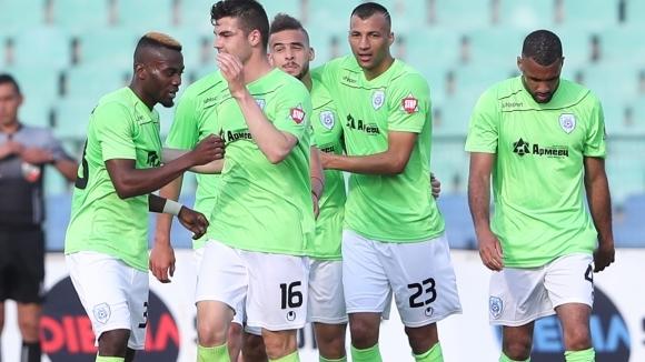 Черно море с група от 20 футболисти за реванша с Локомотив в Пловдив