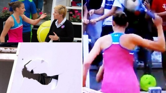 Когато съдията е неадекватен - изпотроши стола му (видео)