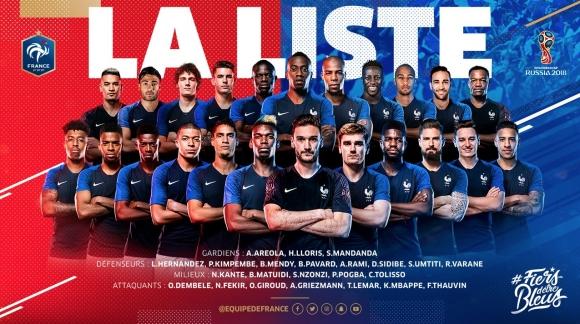 Дешан обяви състава на Франция - има изненади