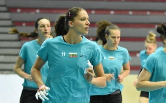 Христина Русева е новият капитан на женския национален отбор (видео)