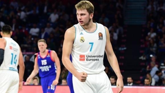 """Лука Дончич е """"Най-полезен играч"""" в Евролигата"""