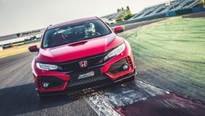 Нов рекорд за Honda Civic Type R (видео)