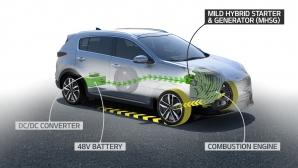 """Kia лансира нов дизелов """"мек"""" хибрид с 48V система през 2018"""
