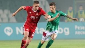 ЦСКА-София с шестима юноши срещу Берое (групата на