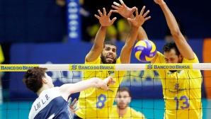 Бразилия с две победи над Китай в контроли (снимки)