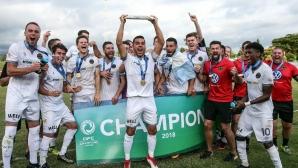 Уелингтън спечели Шампионската лига в зона Океания