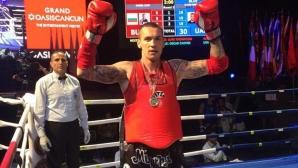Даниел Илиев стана втори на Световното по муайтай (видео)