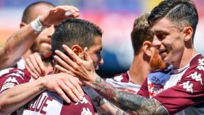 Торино завърши сезона с успех в Генуа