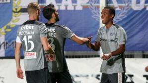 Верея - Левски 0:0, 18-годишен вратар дебютира за столичани