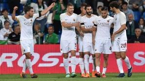 Рома завърши сезона с победа след нелеп автогол