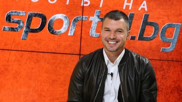 Божинов за футбола, Левски, националния отбор и бъдещите си планове (видео)