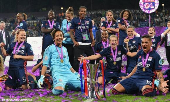 Олимпик Лион спечели Шампионската лига за жени за трета поредна година