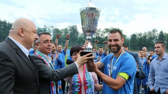 Арда откри стадиона в паметен мач с 9 гола, тимът на Топчо вдигна купата (видео+галерия)