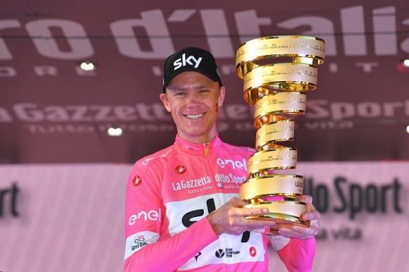 Крис Фрум спечели Обиколката на Италия