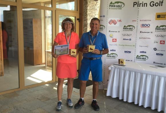 Владимир Михайлов и Бойка Мицанска грабнаха наградите в ПроГолфРанкинга за месец април