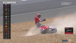 Довициозо: Неприемлива грешка ще ми коства титлата в MotoGP