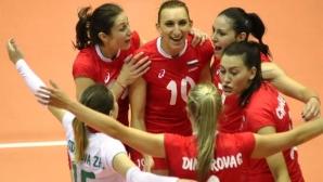 България с втора победа в Златната лига! Русева заби 21 точки (видео + снимки)