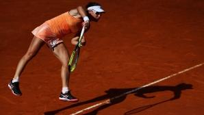 Защитаващата титлата си Стосър отпадна на четвъртфиналите в Страсбург