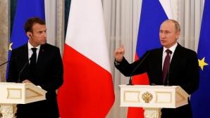 Еманюел Макрон се връща в Русия заради Мондиал 2018