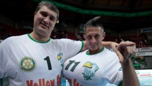 Приятел на Любо Ганев превърна Колизеума във Волейболен символ (снимки)