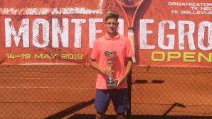 Симон-Антони Иванов спечели втора титла в Черна гора