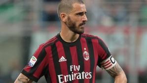 Бонучи готов да си тръгне от Милан при изваждане от Европа