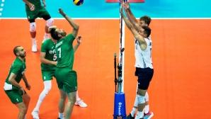 България се бори, но взе само гейм на САЩ в Лигата на нациите (галерия)
