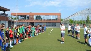 Деца от всички краища на България се явиха на кастинг в Лудогорец