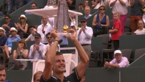 Фучович спечели първа титла в кариерата си