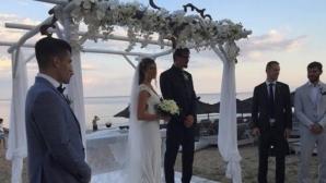 Матей Казийски и Христо Златанов на сватбата на гръцки национал (снимки + видео)