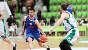 Левски Лукойл успя в Ботевград и е на победа от титлата (галерия)