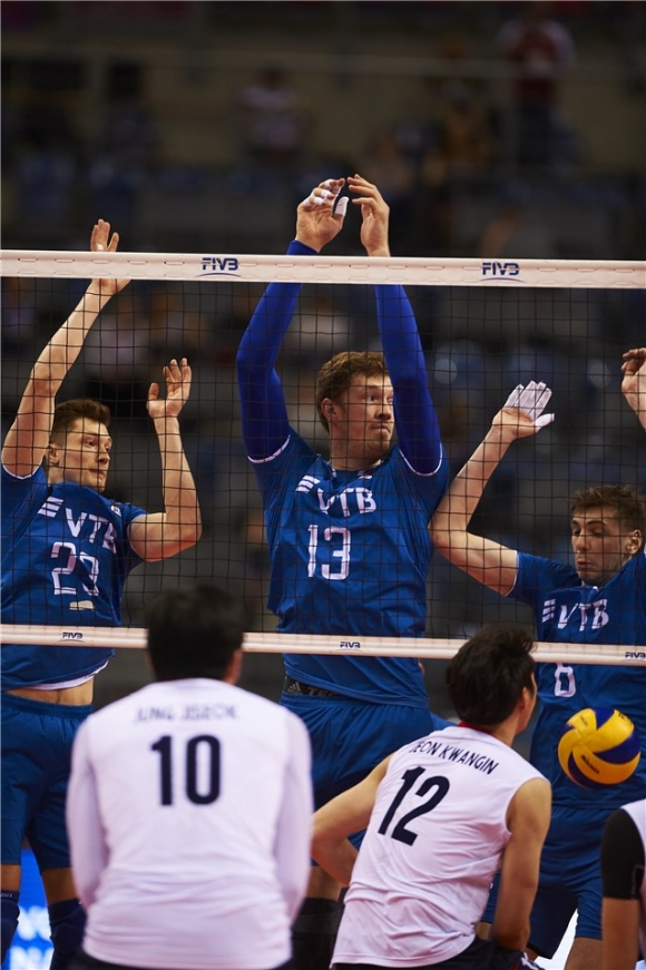 Русия загря за България с чиста победа срещу Република Корея (видео + снимки)