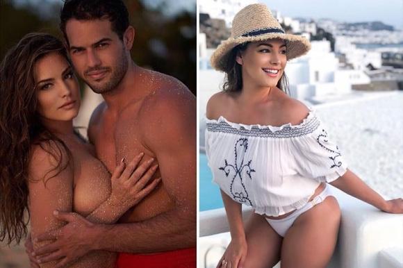 Кели Брук красива и влюбена в Гърция (снимки)