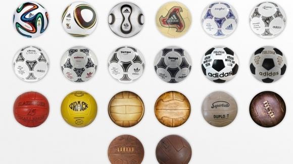 Футболните топки на световните първенства